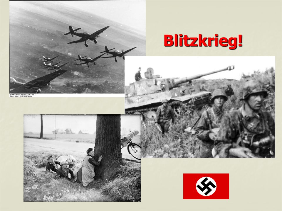 Blitzkrieg! YouTube - Germany Invades Poland-France and Britain Declares War