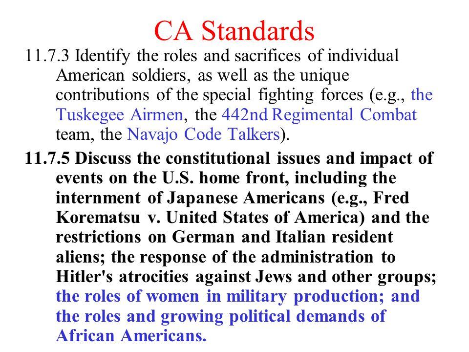 CA Standards
