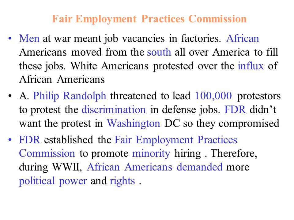 Fair Employment Practices Commission