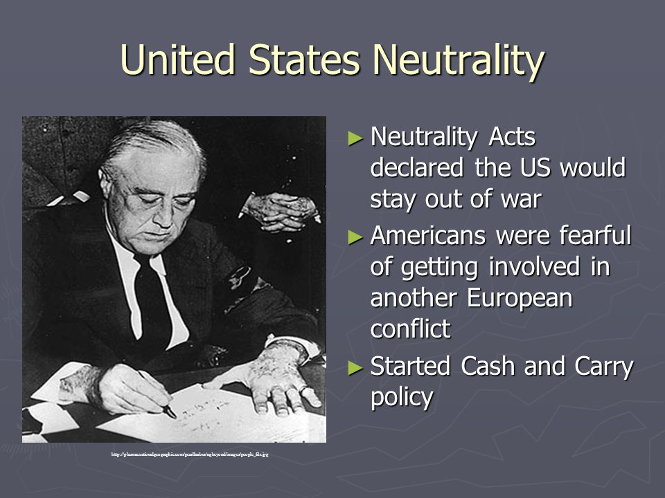 United States Neutrality