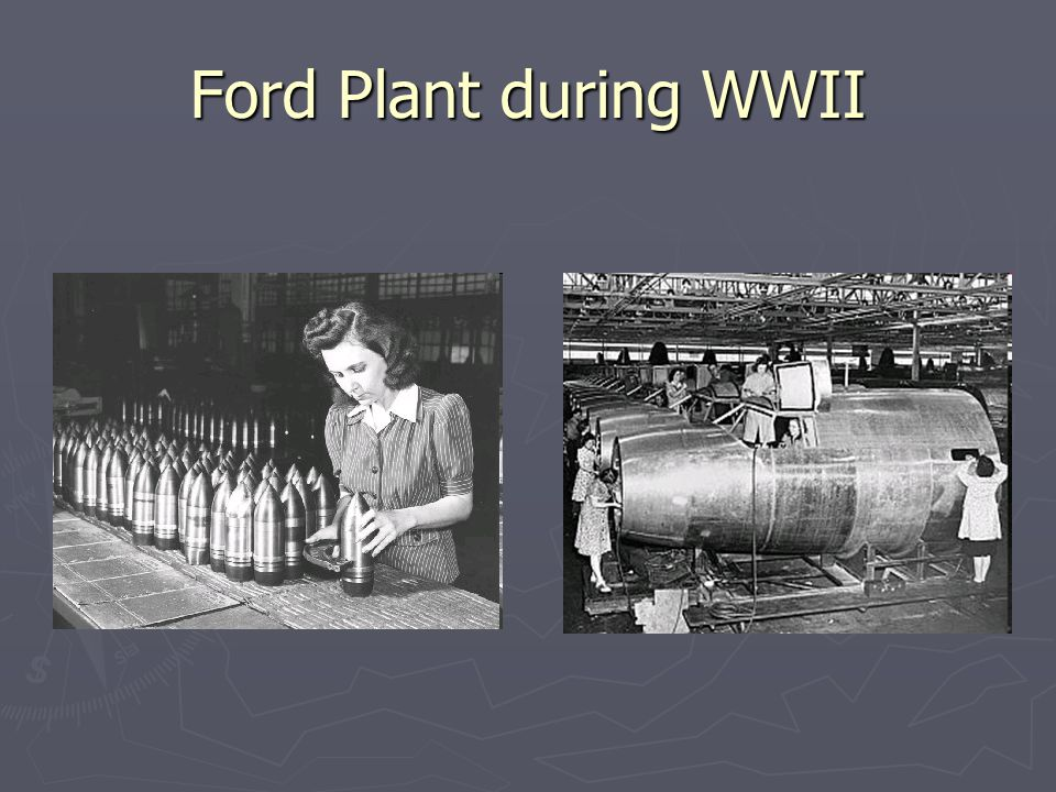 Ford Plant during WWII