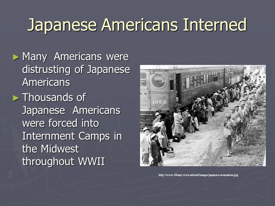 Japanese Americans Interned