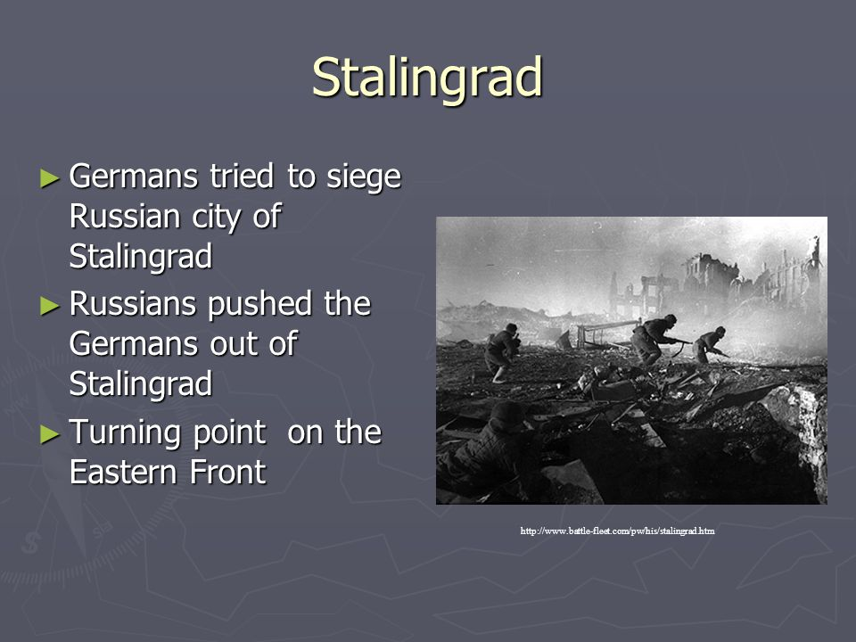 Stalingrad Germans tried to siege Russian city of Stalingrad