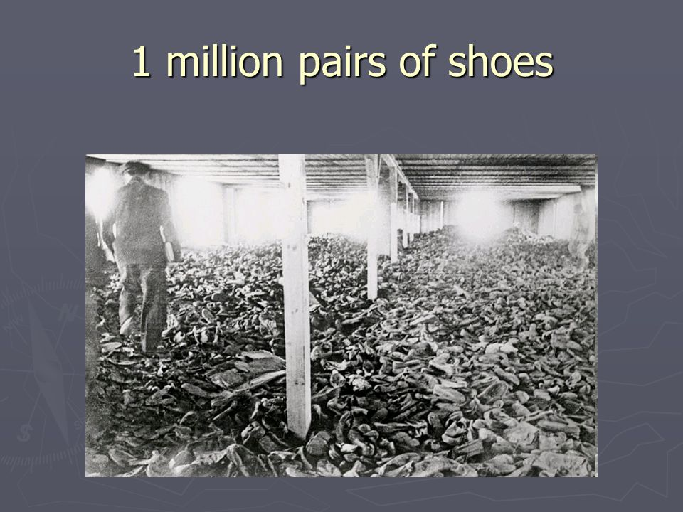 1 million pairs of shoes