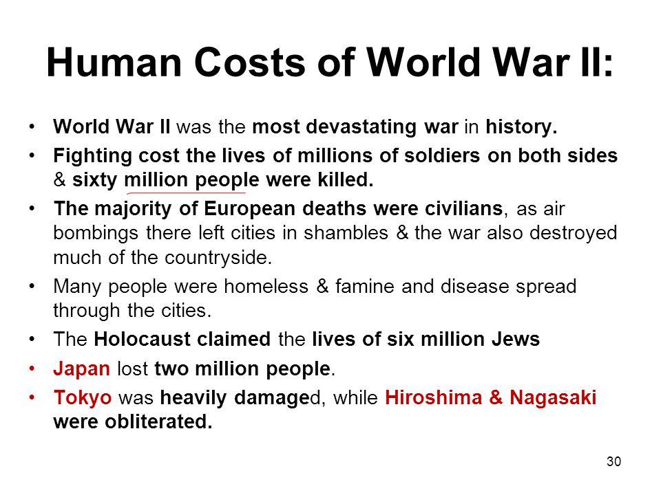 Human Costs of World War II: