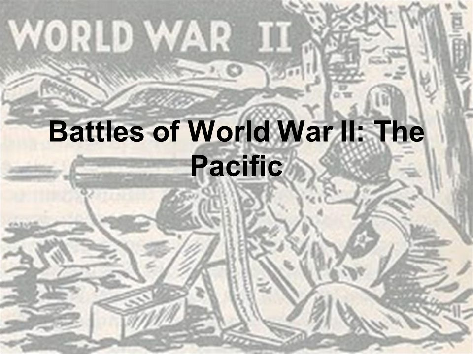 Battles of World War II: The Pacific