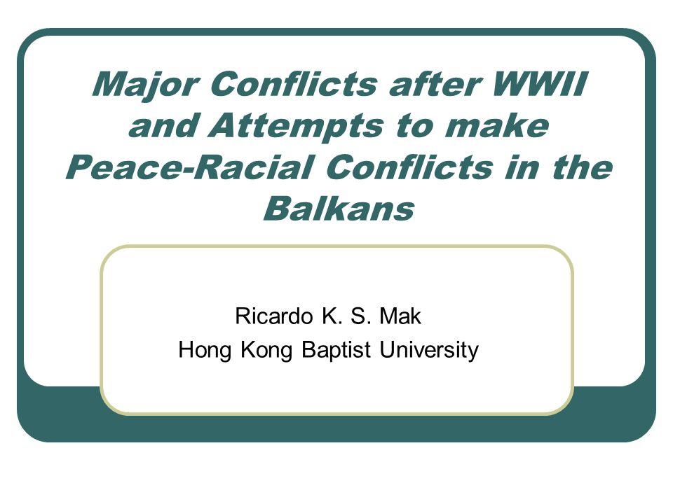 Ricardo K. S. Mak Hong Kong Baptist University