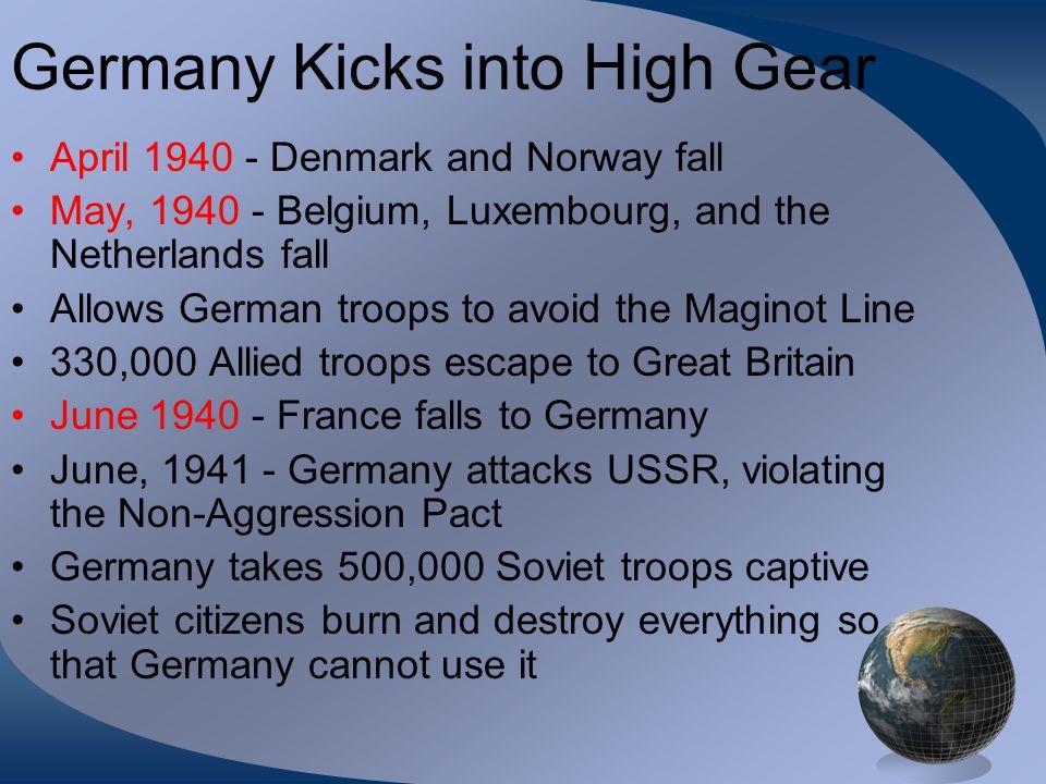 Germany Kicks into High Gear