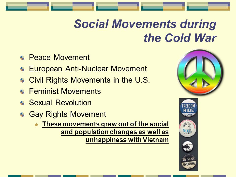 Social Movements during the Cold War