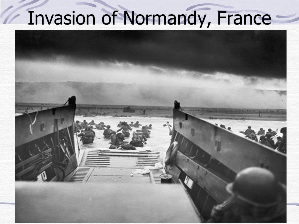 Invasion of Normandy, France