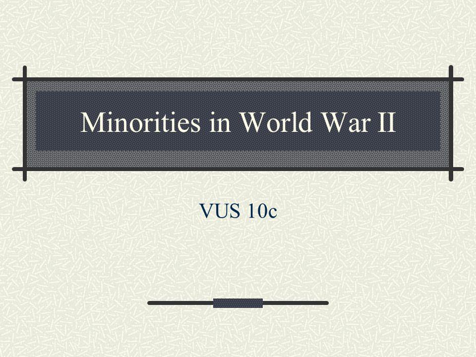 Minorities in World War II