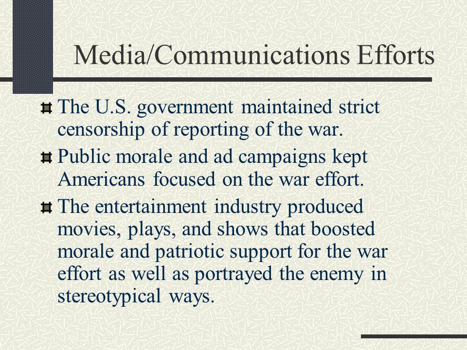 Media/Communications Efforts