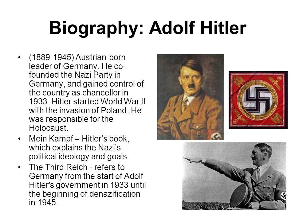 Biography: Adolf Hitler