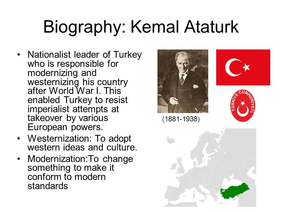 Biography: Kemal Ataturk
