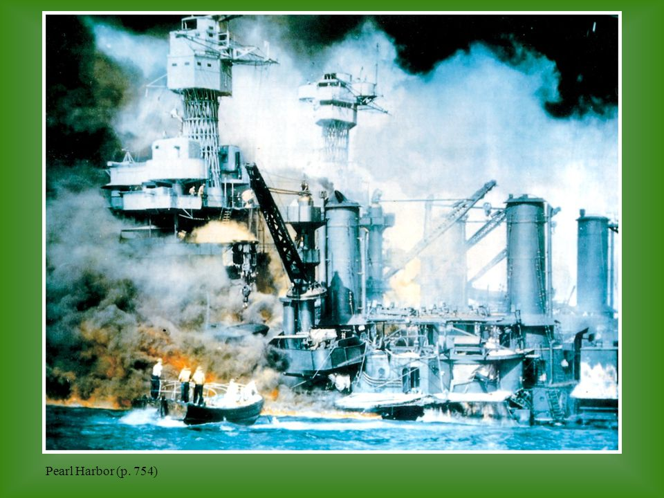 Pearl Harbor (p. 754)