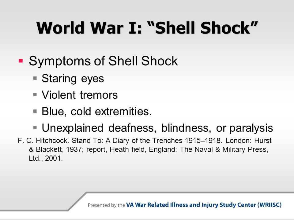 World War I: Shell Shock