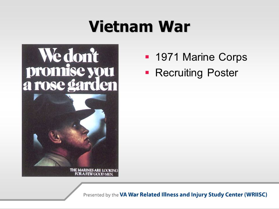 Vietnam War 1971 Marine Corps Recruiting Poster