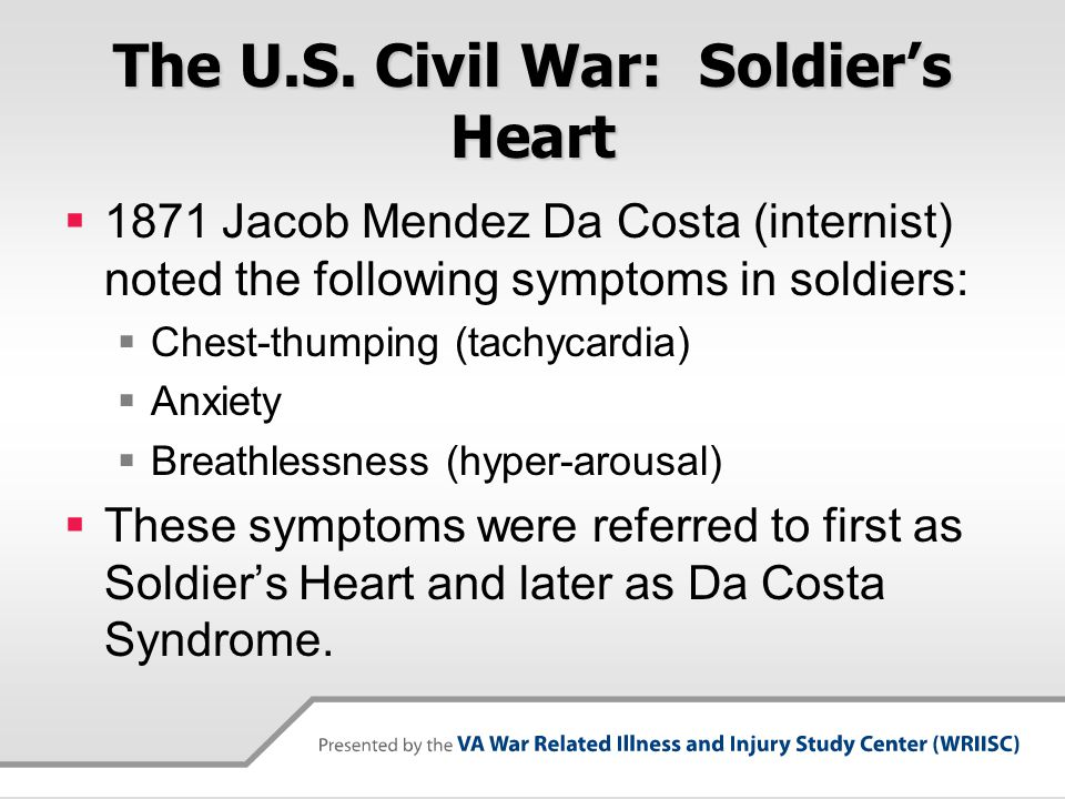 The U.S. Civil War: Soldier's Heart