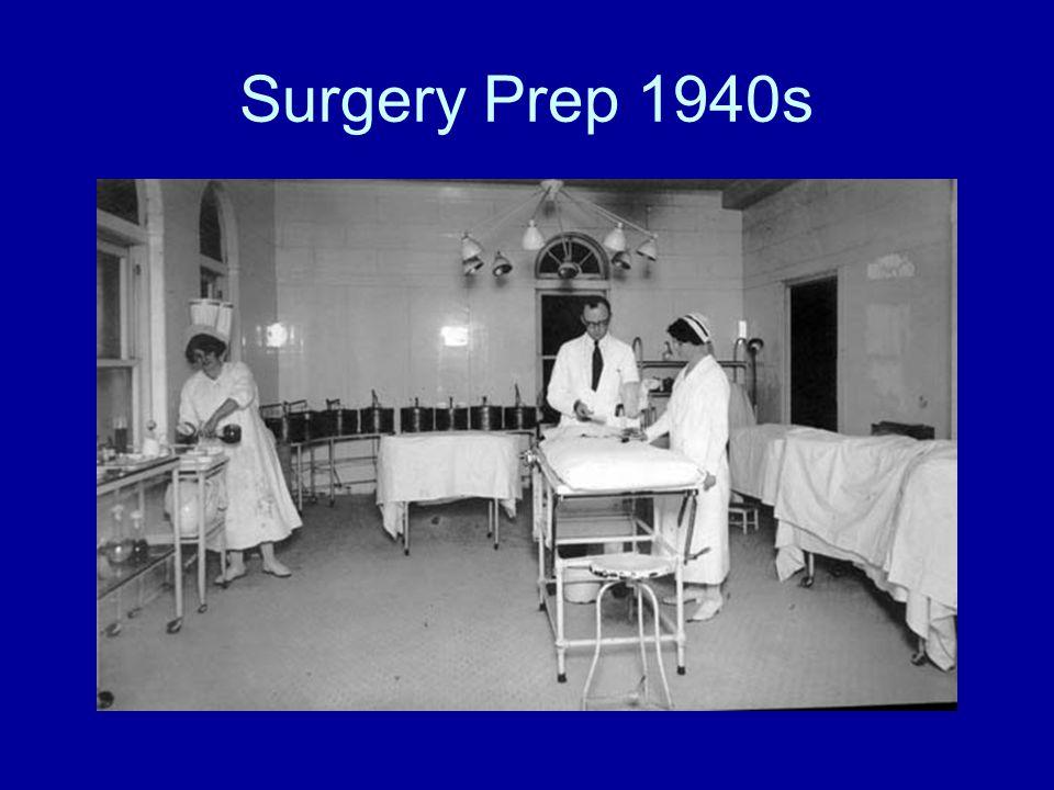 Surgery Prep 1940s