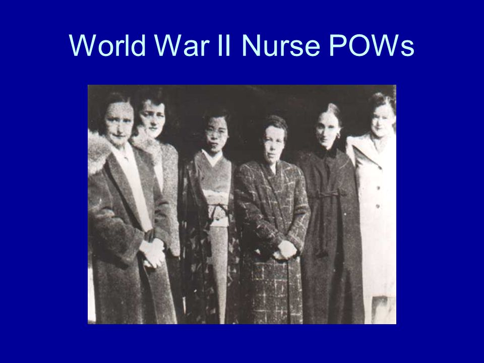 World War II Nurse POWs