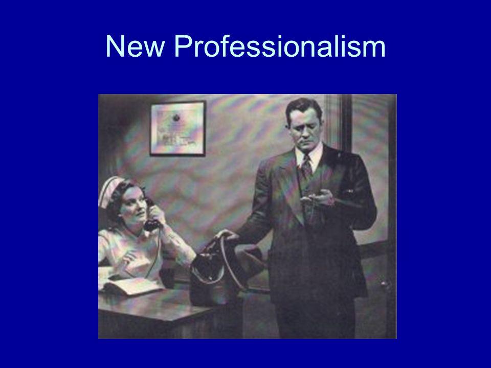 New Professionalism