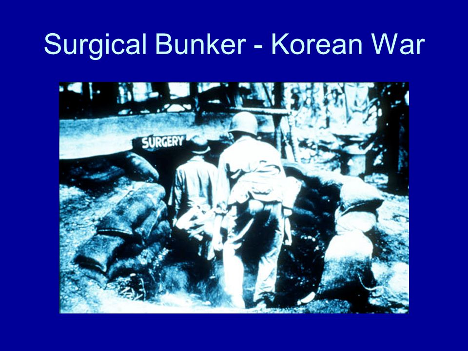 Surgical Bunker - Korean War