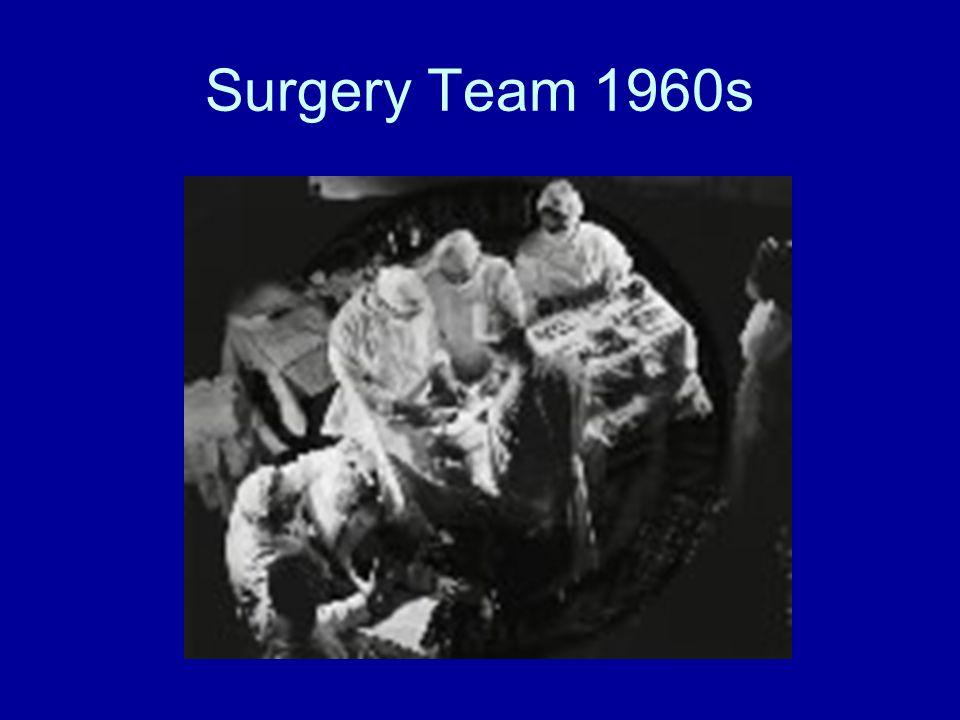 Surgery Team 1960s