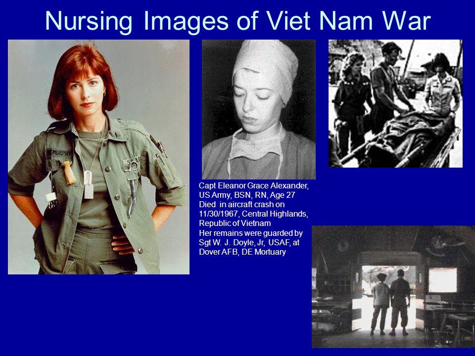 Nursing Images of Viet Nam War