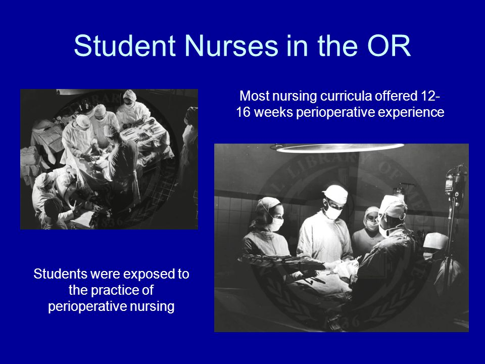Student Nurses in the OR