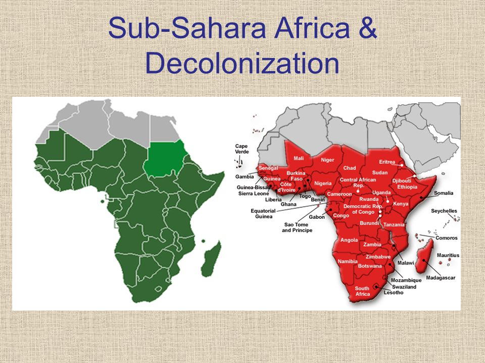 decolonization of africa In the same way that the military dominated the writing on africa's contemporary  political history in the early 1970s, so the theme of decolonisation has pre-.