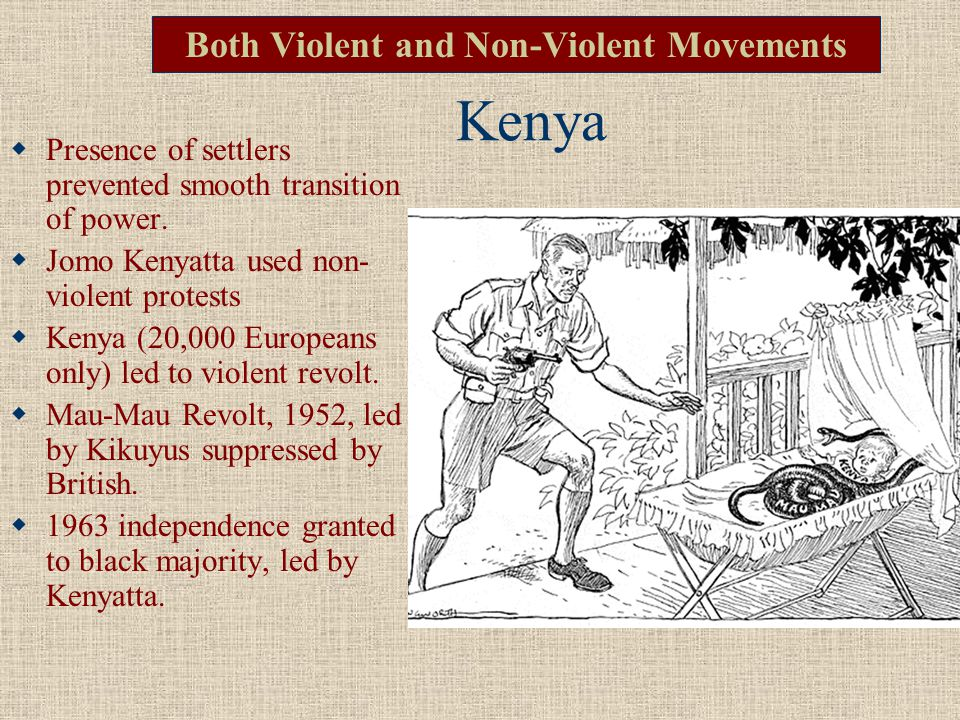 Both Violent and Non-Violent Movements