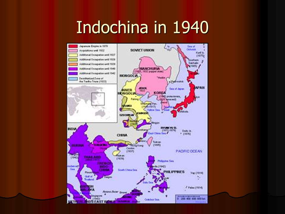 Indochina in 1940