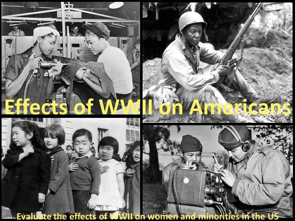 Effects of WWII on Americans