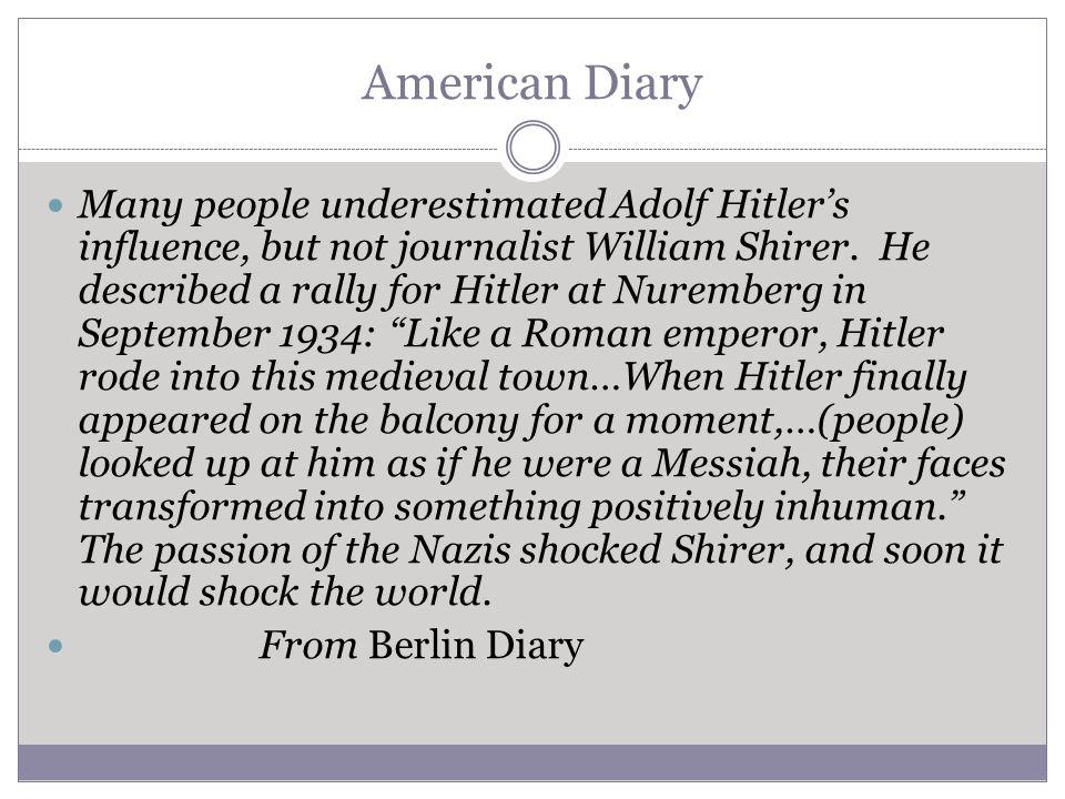 American Diary