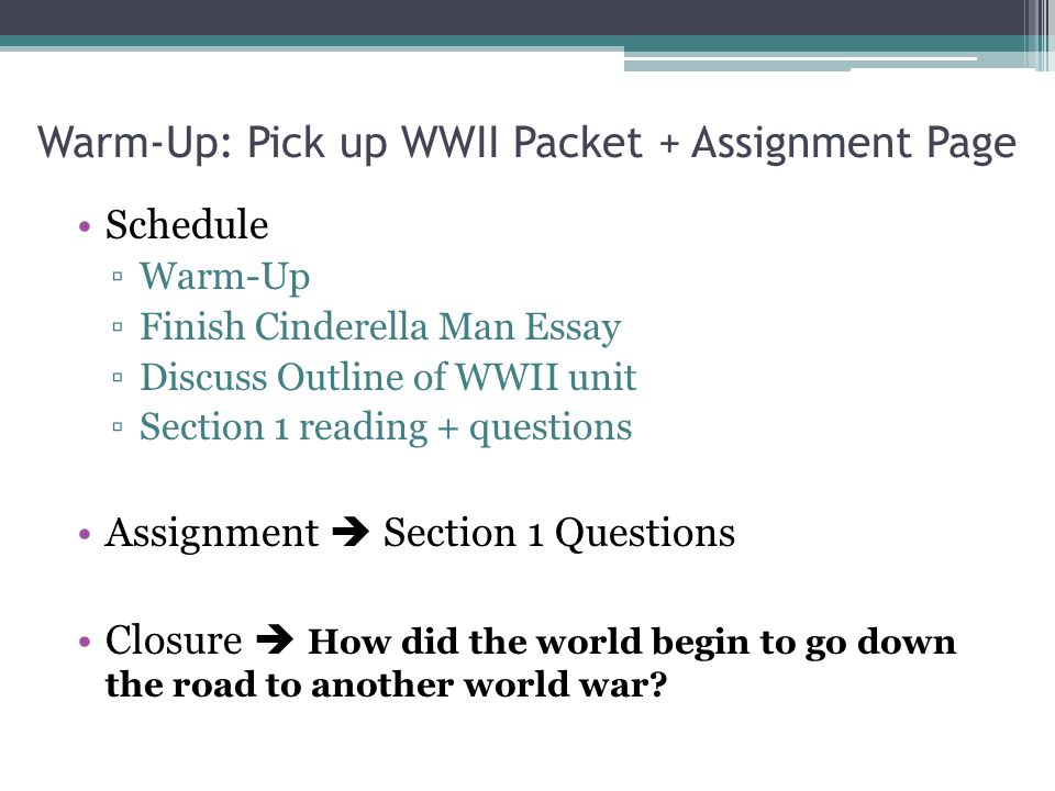 world war ii ppt 2