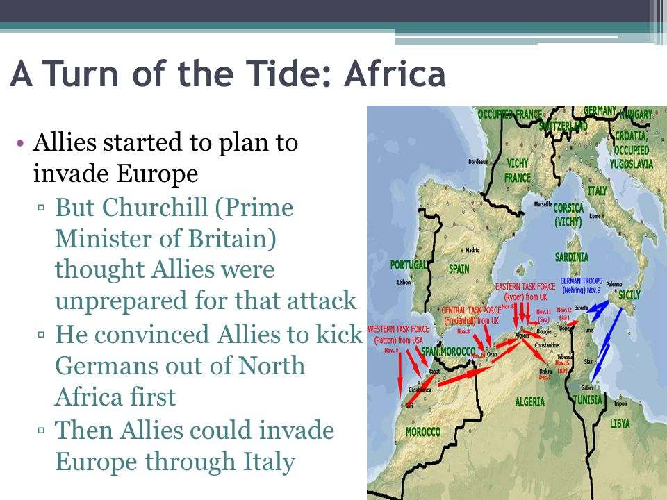 A Turn of the Tide: Africa