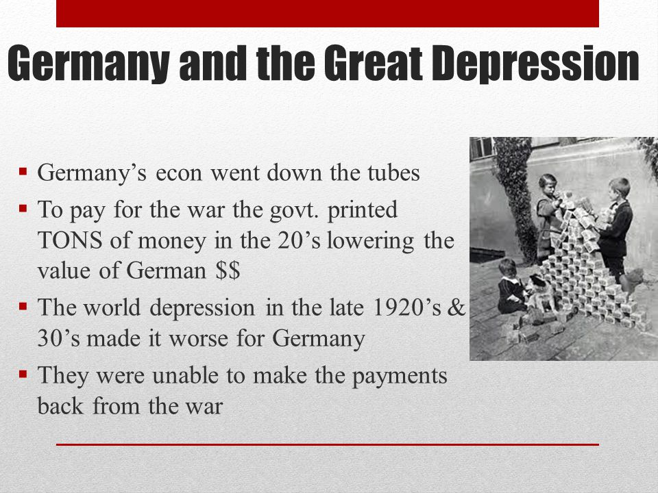 Germany and the Great Depression