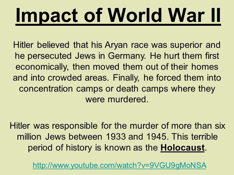Impact of World War II