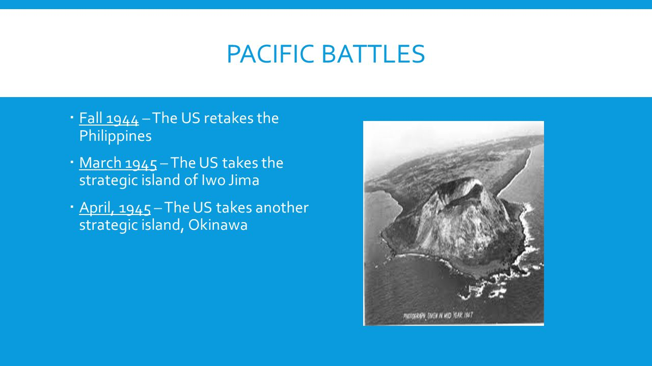 Pacific battles Fall 1944 – The US retakes the Philippines