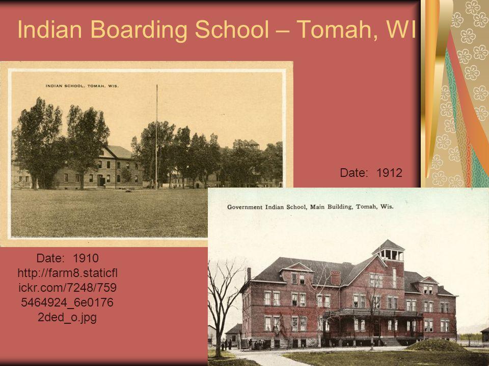 Indian Boarding School – Tomah, WI