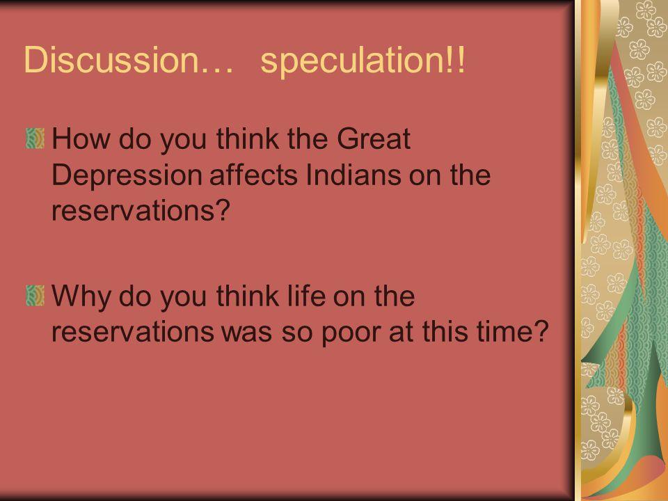 Discussion… speculation!!