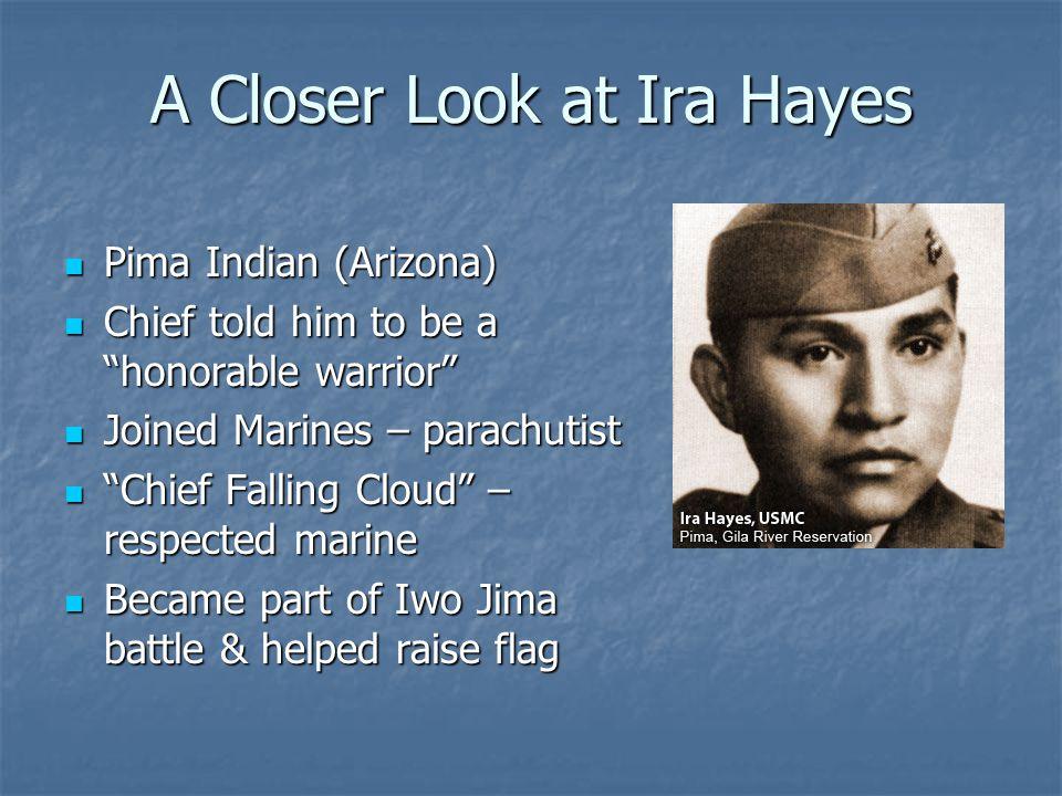 A Closer Look at Ira Hayes