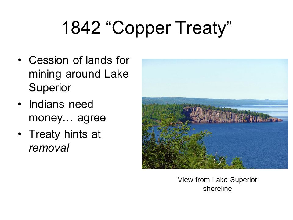 View from Lake Superior shoreline