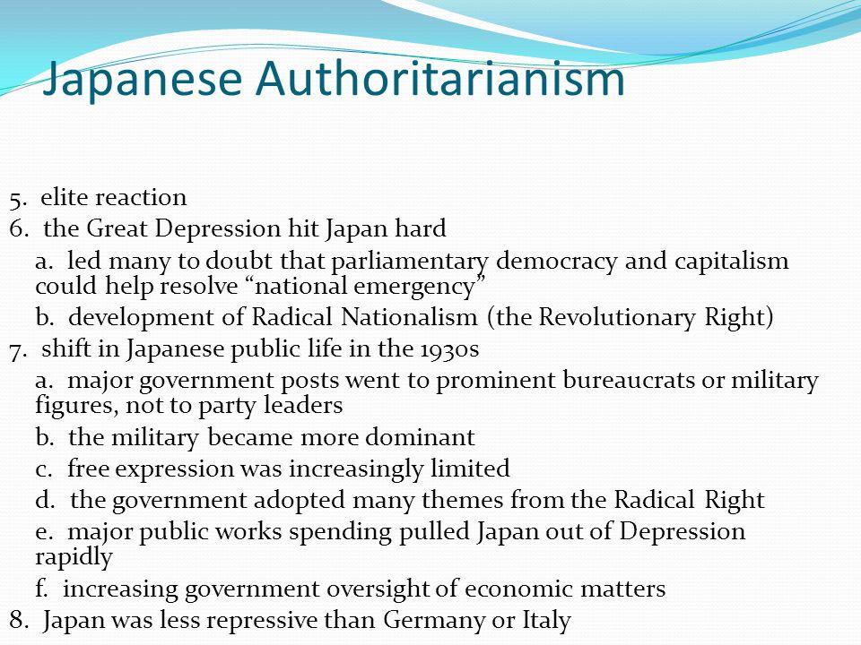Japanese Authoritarianism