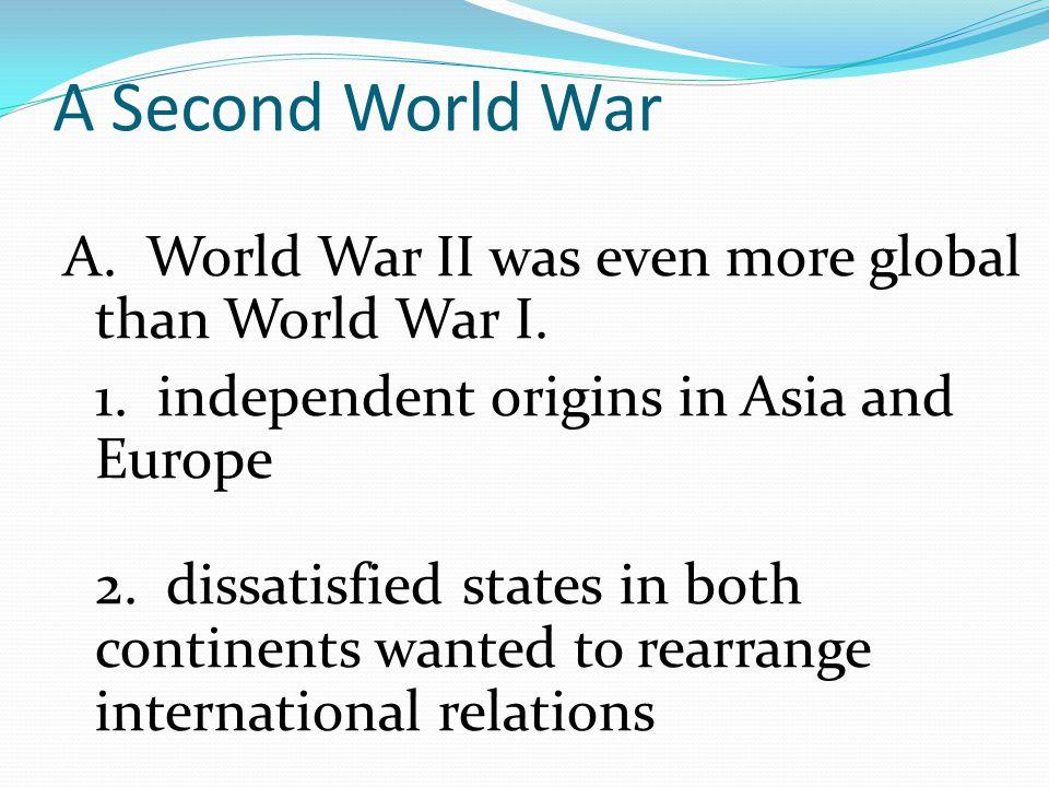 A Second World War