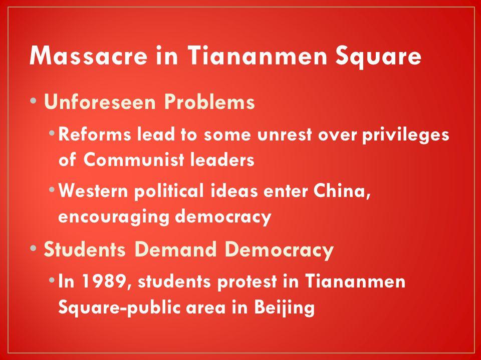 Massacre in Tiananmen Square