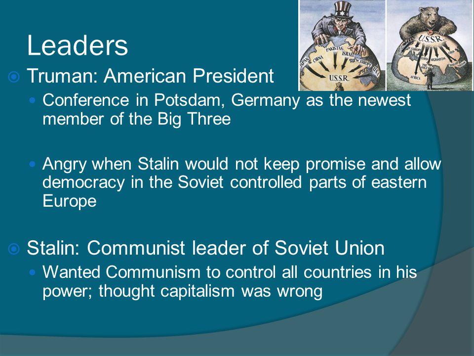 Leaders Truman: American President