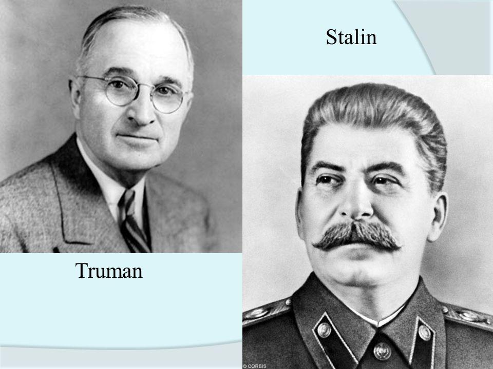 Stalin Truman