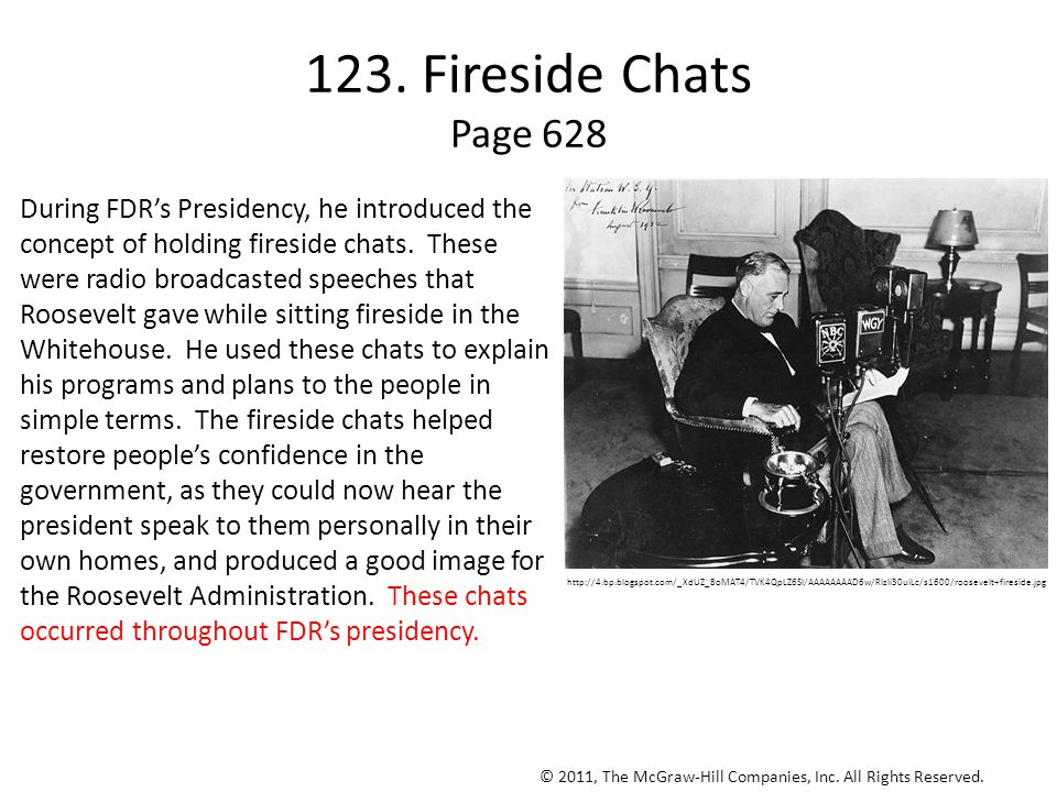 123. Fireside Chats Page 628