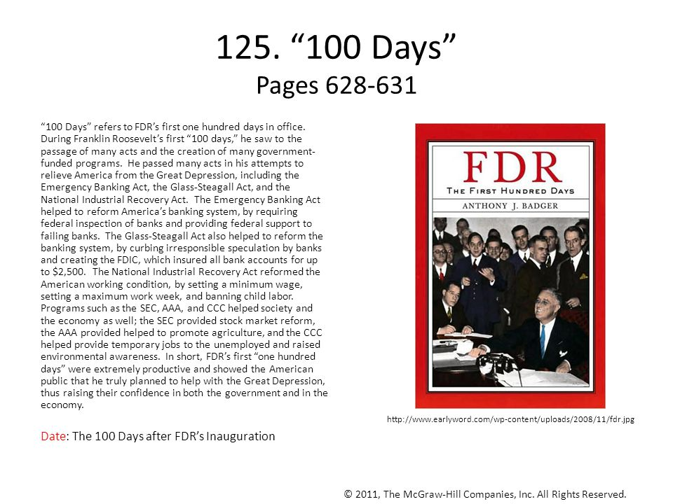 125. 100 Days Pages 628-631